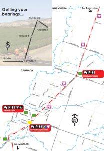 Barossa Bike Map