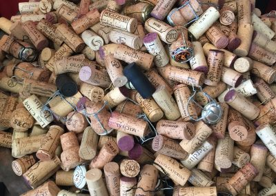 Cork collection at Casa Carboni